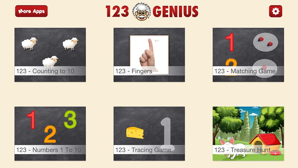 123 Genius First Numbers & Counting Game for Kids cheat codes