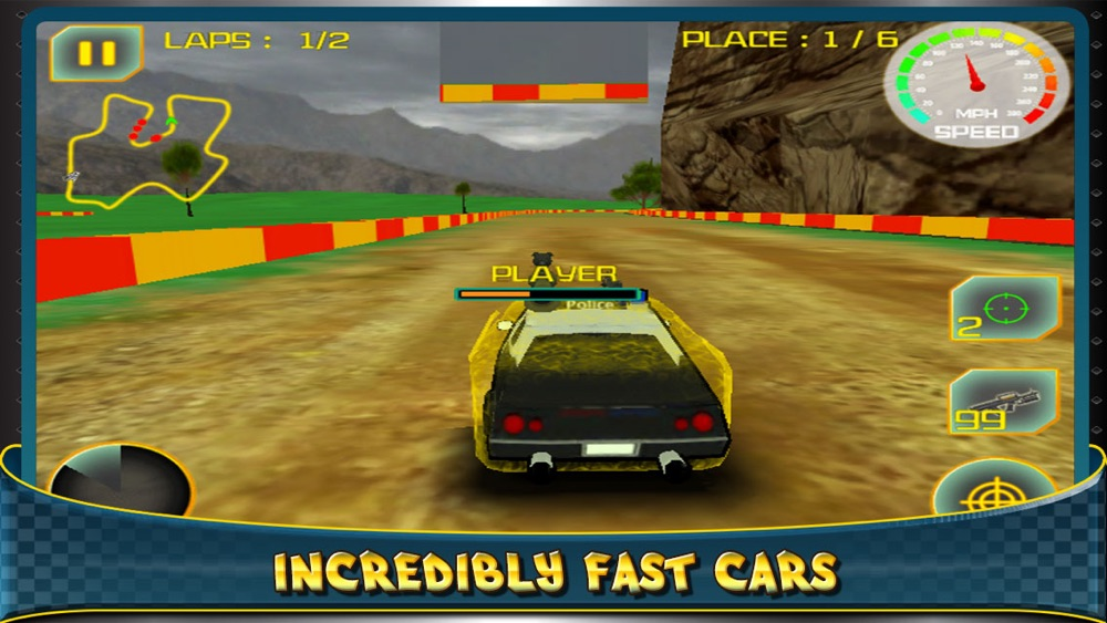 Hack tool for 3D Destruction By Police Car - Racing The Big Drift Race