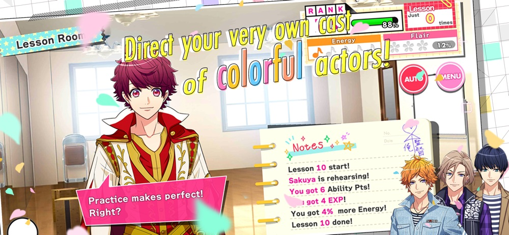 Hack tool for A3! Otome Anime Game