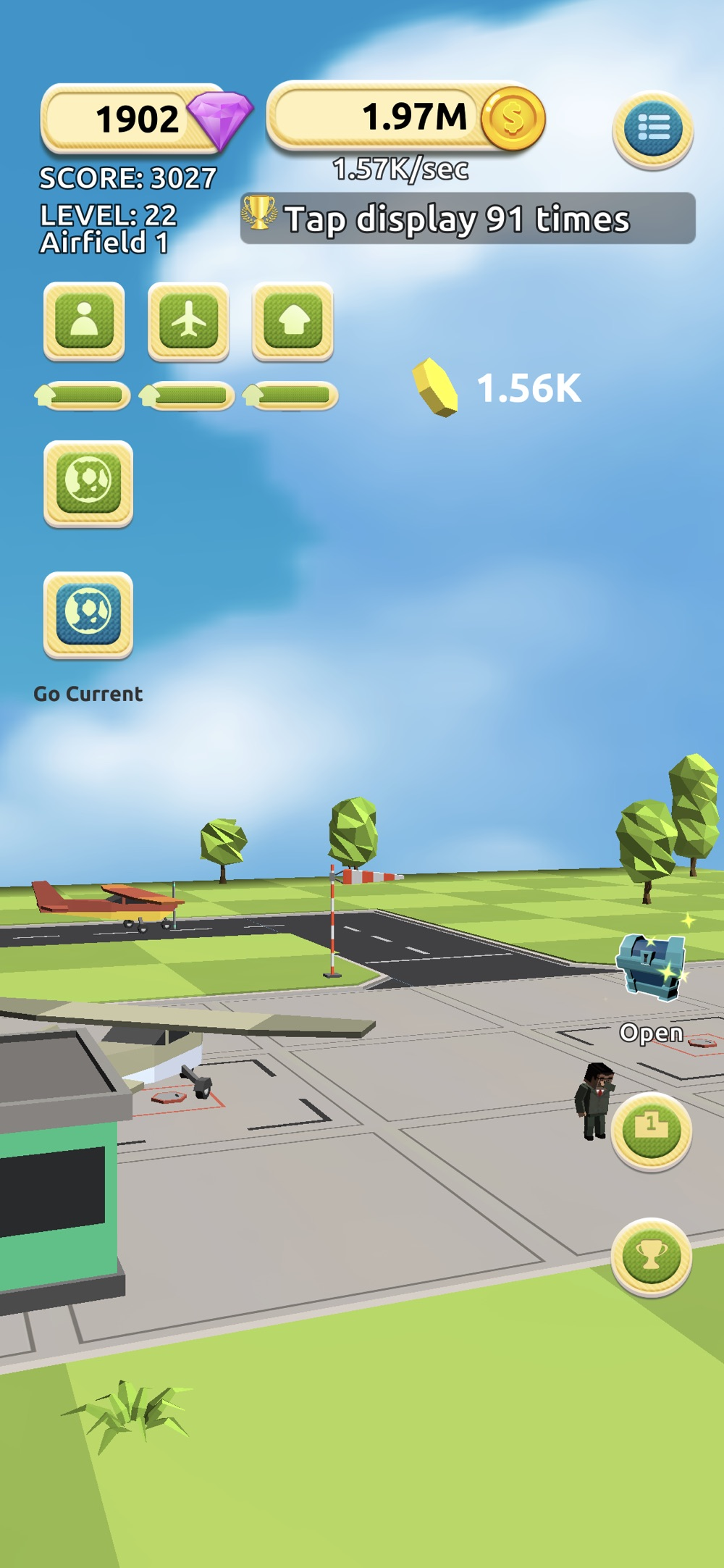 Hack tool for Airfield Tycoon Clicker