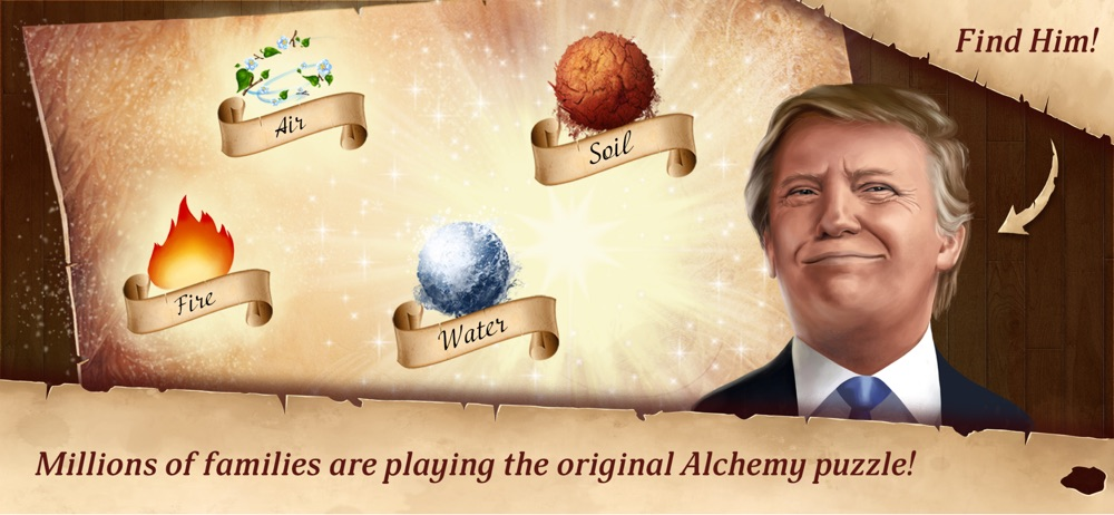 Alchemy – non logical puzzle hack tool