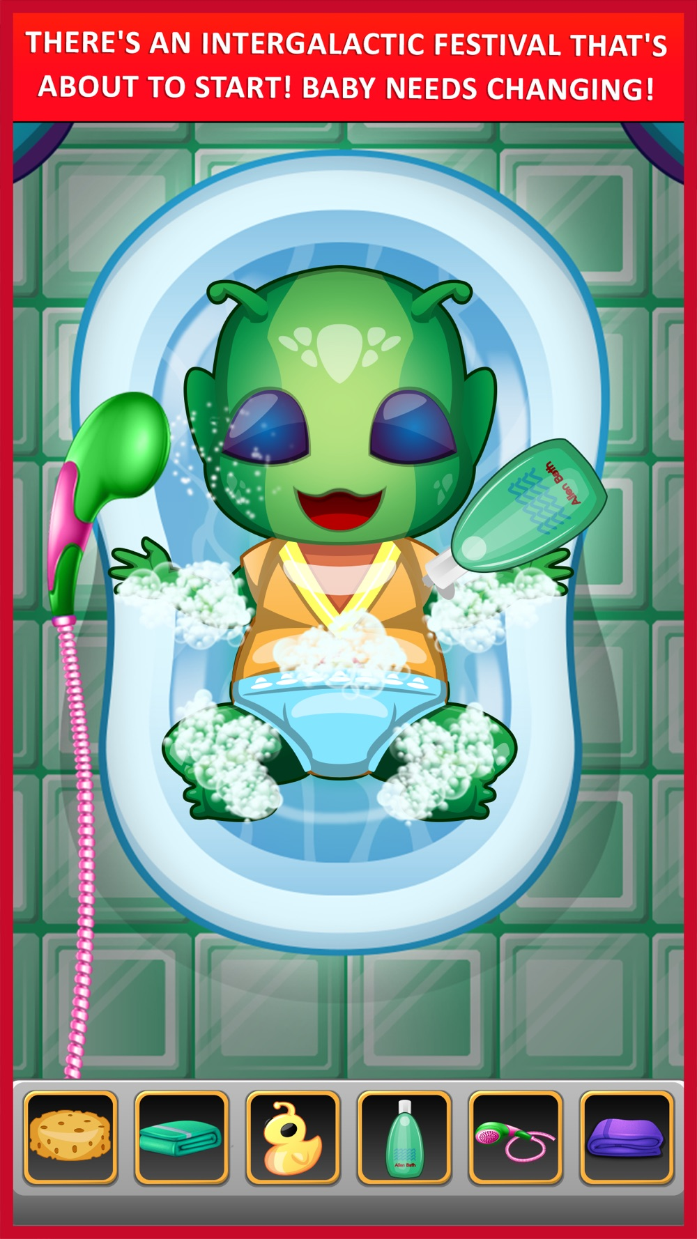 Hack tool for Alien Mommy New Baby Doctor - mommy's newborn babycare sister & girl family adventure games