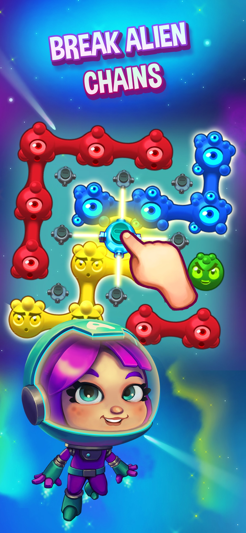 Aliens in Chains Space Puzzle hack tool