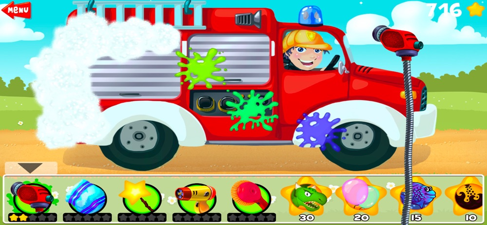 Amazing Car and Truck Wash cheat codes