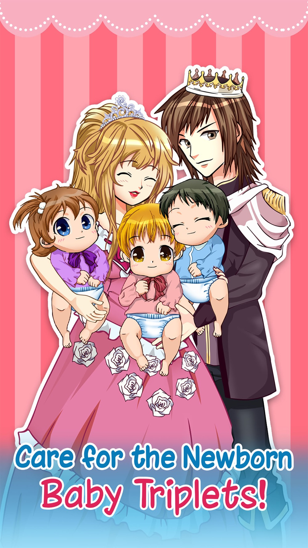 Hack tool for Anime Newborn Baby Care - Mommy's Dress-up Salon Sim Games for Kids!