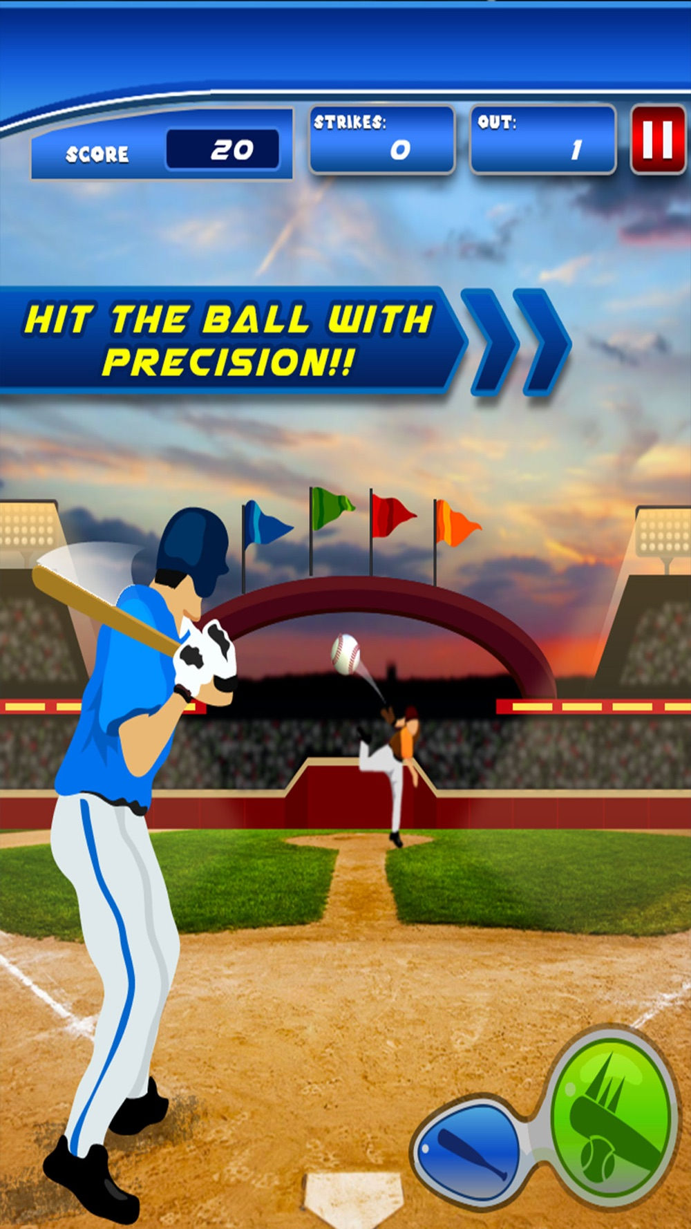 Baseball Tap Sports – Play as Star Player and Hit the Screw Ball to Score High in Championship hack tool