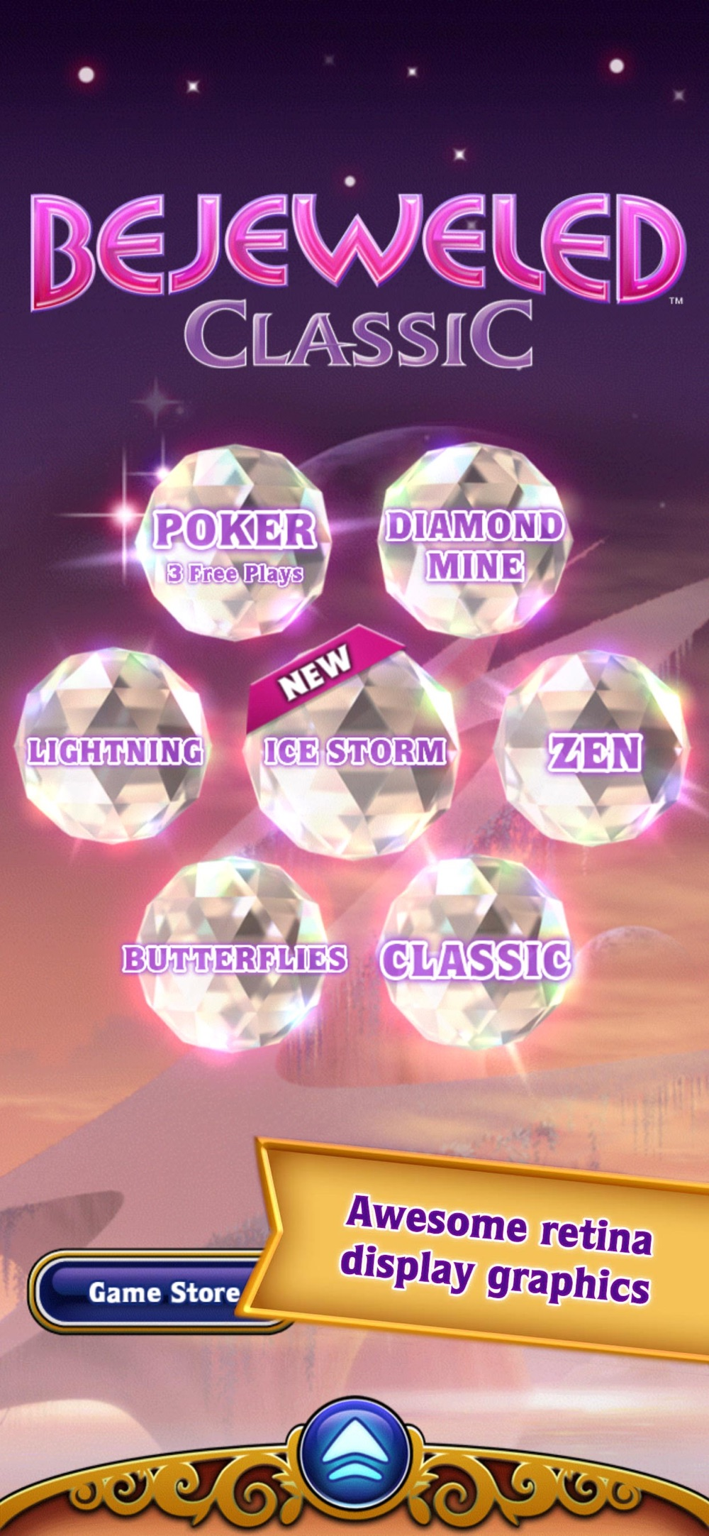 Bejeweled Classic cheat codes