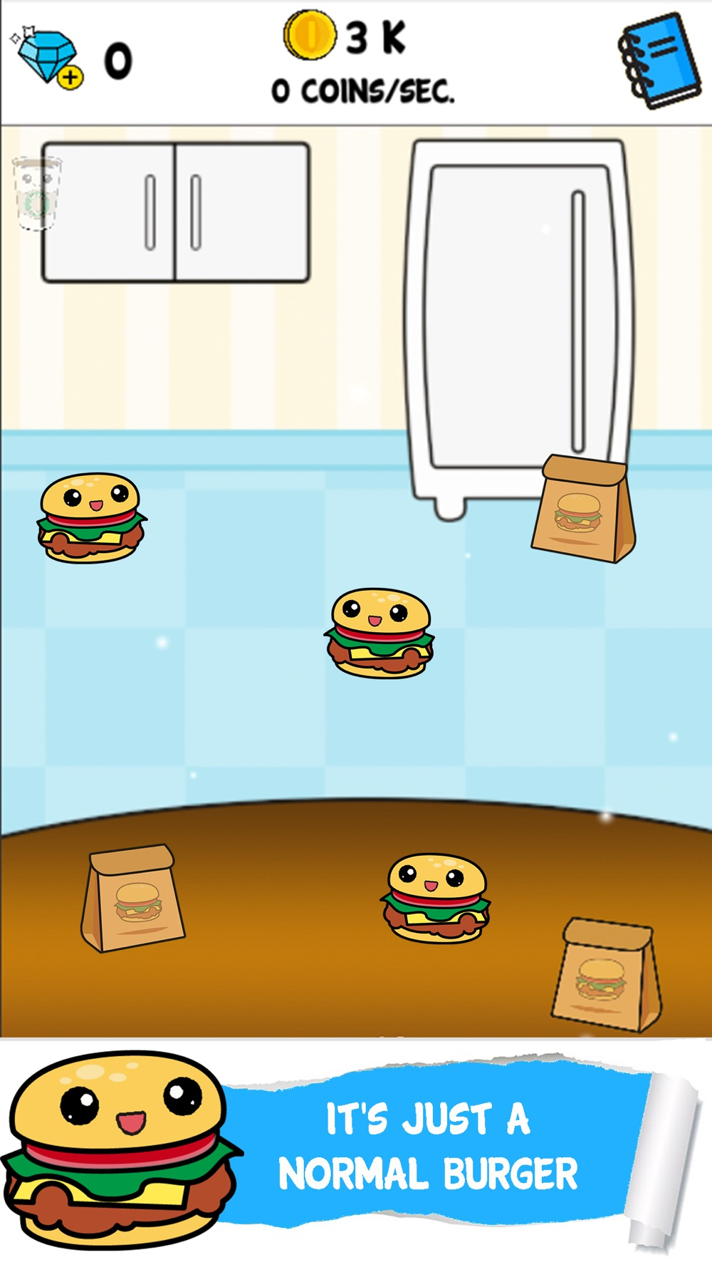 Burger Food Evolution – Clicker & Idle Game cheat codes