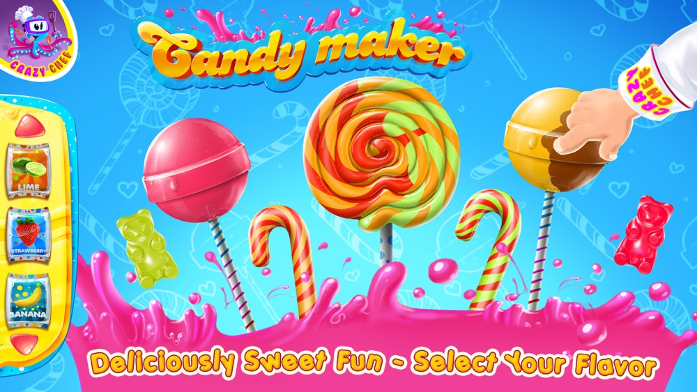 Candy Crazy Chef cheat codes