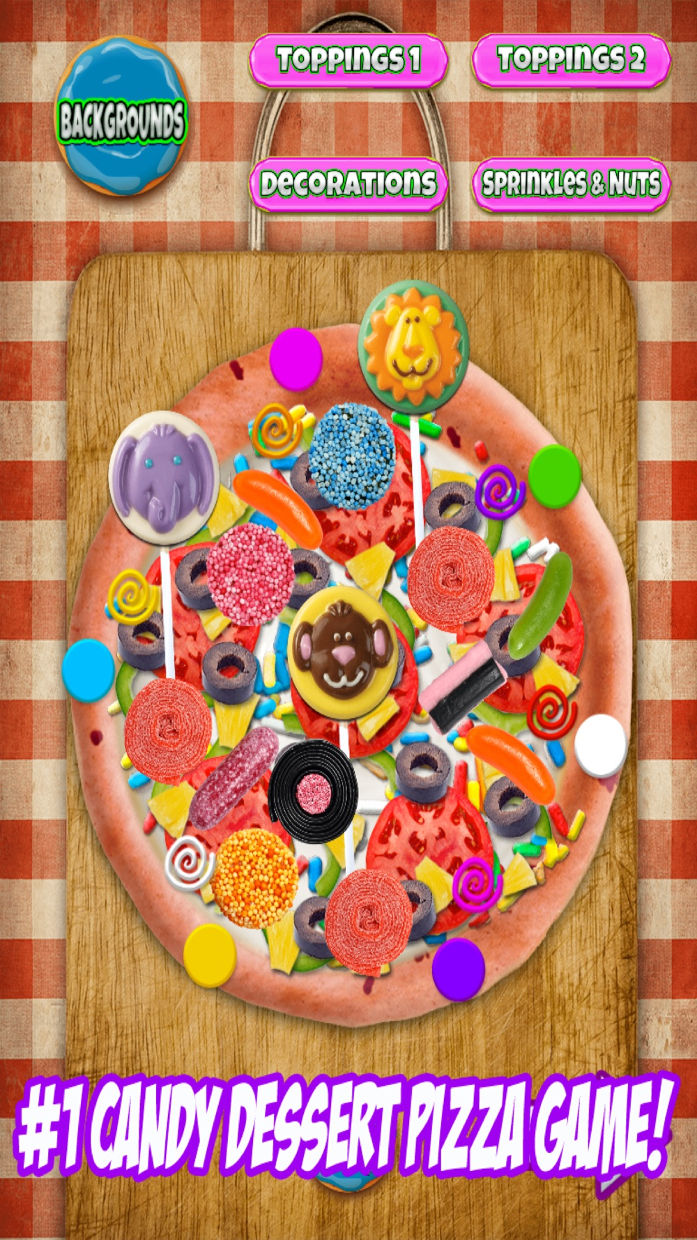 Hack tool for Candy Dessert Pizza Maker - Cooking Chef Food Game