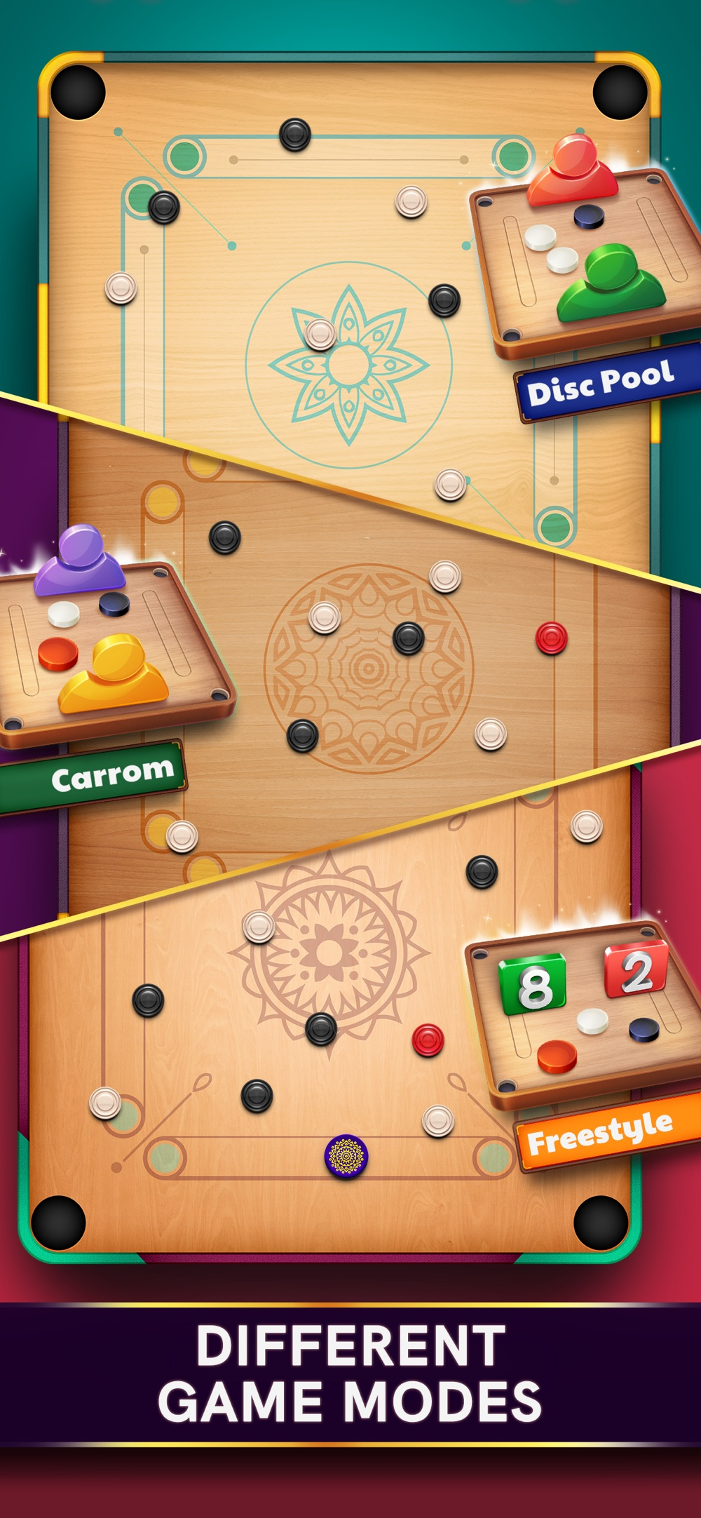 Hack tool for Carrom Pool: Disc Game