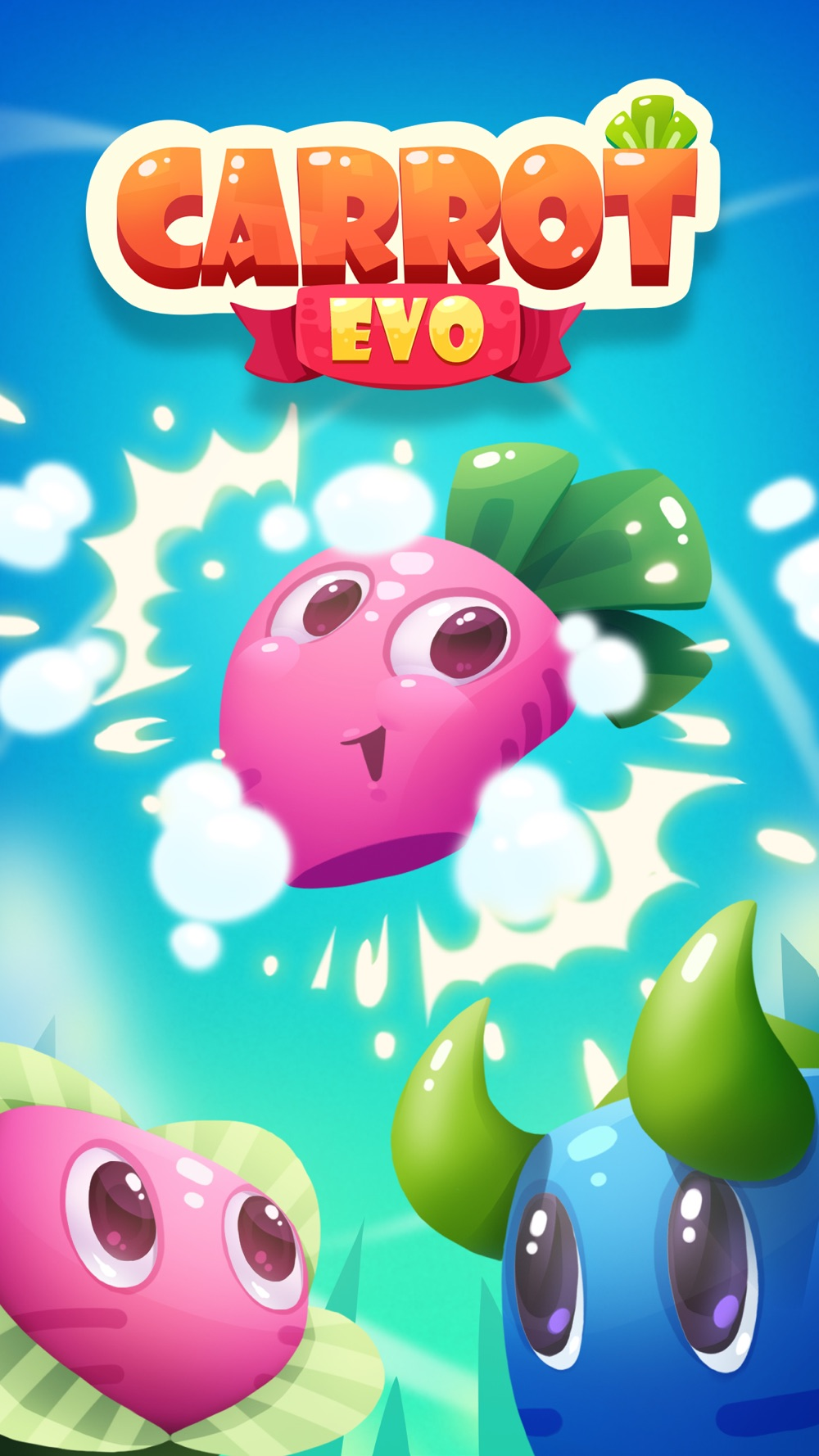 Carrot EVO – Merge Puzzle cheat codes