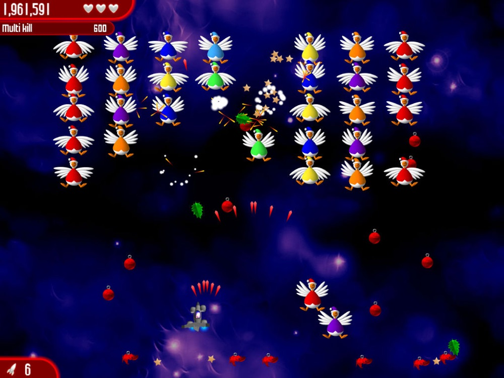 Hack tool for Chicken Invaders 2 Xmas HD