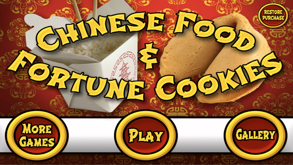 Chinese Food Maker Meal & Fortune Cookies Dessert cheat codes