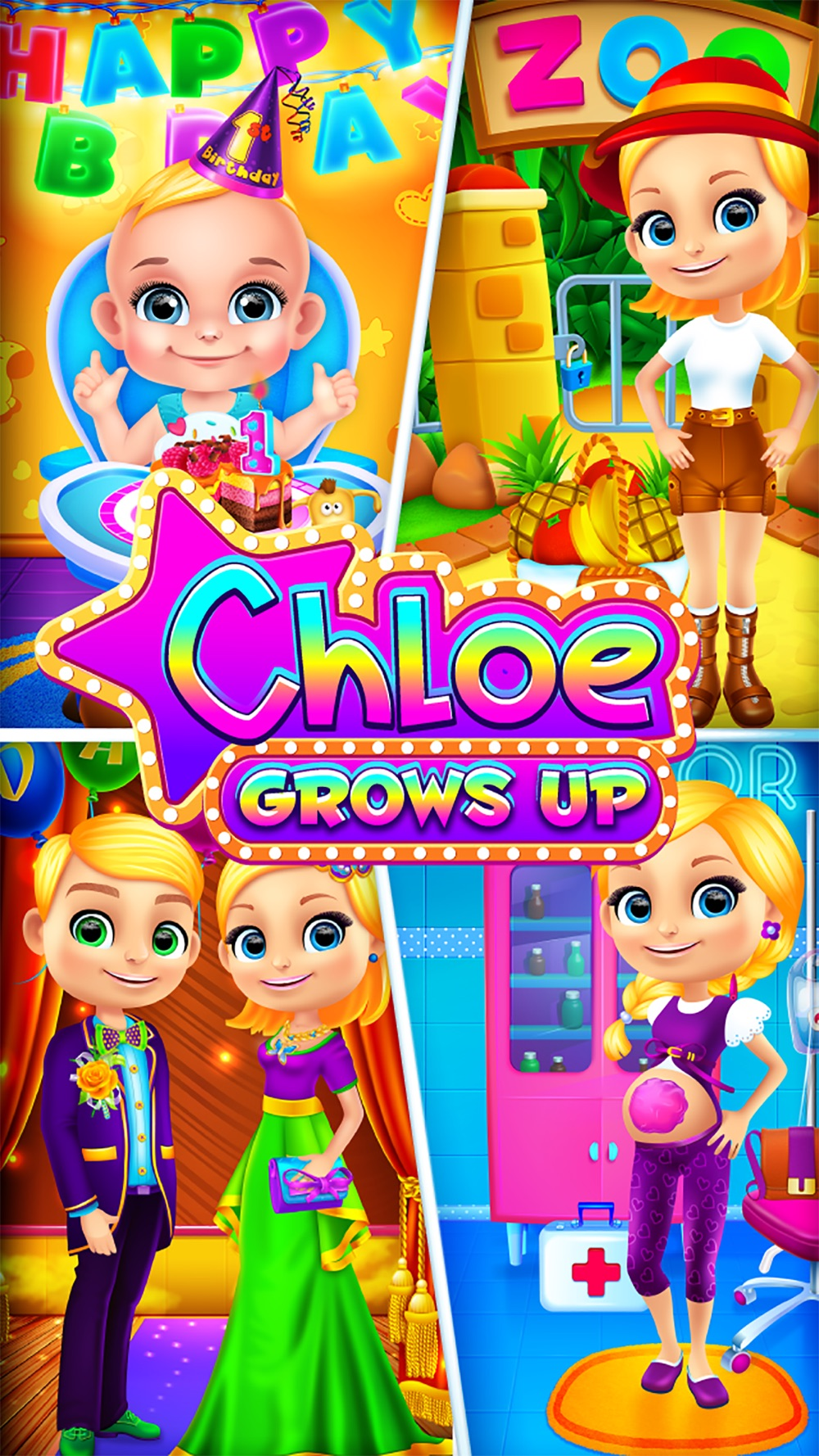 Chloe Grows Up – Mommy, Baby and Family Games for Girls hack tool