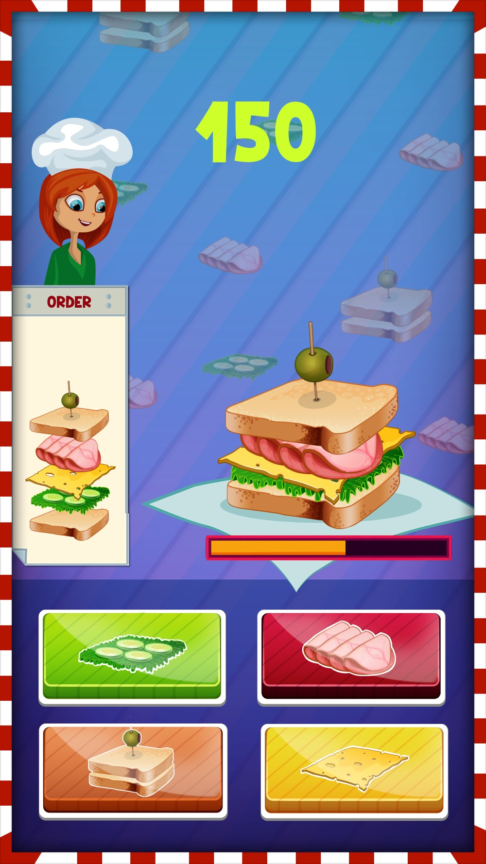 Christmas Sandwich Maker – Cooking Game for kids cheat codes