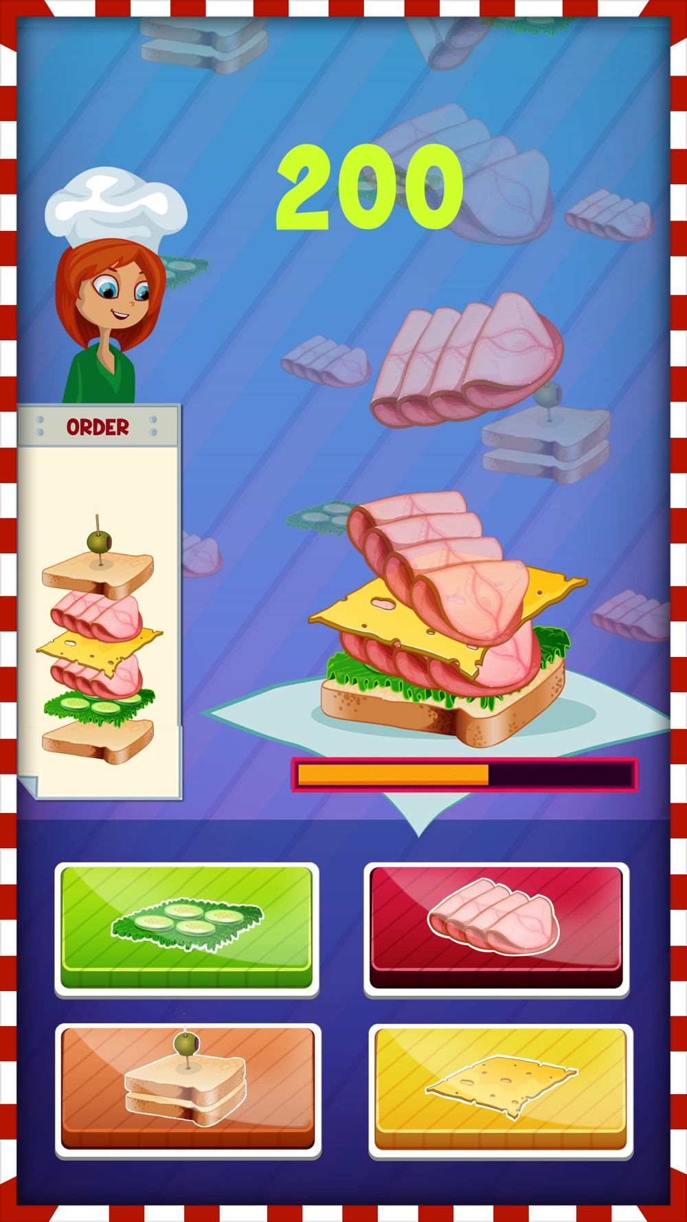 Hack tool for Christmas Sandwich Maker - Cooking Game for kids