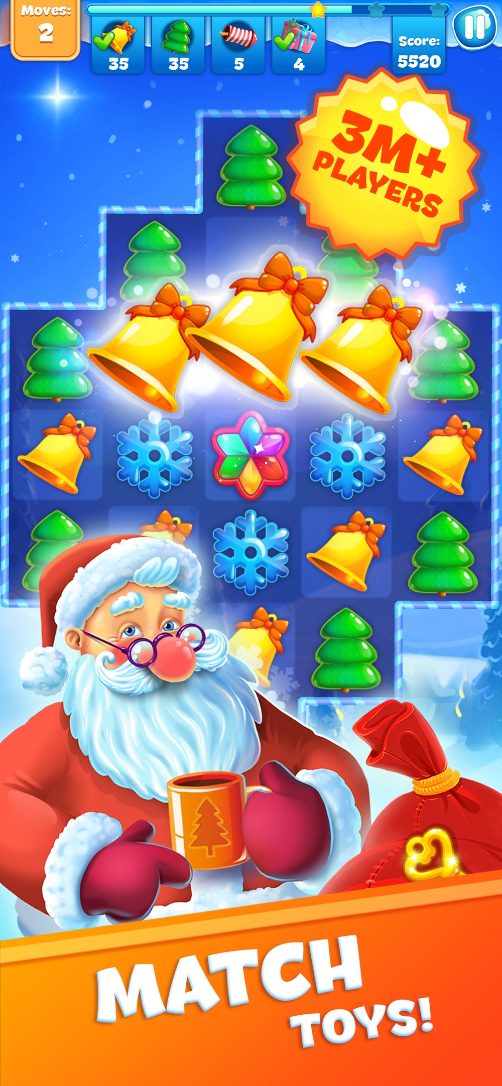 Christmas Sweeper 3 cheat codes