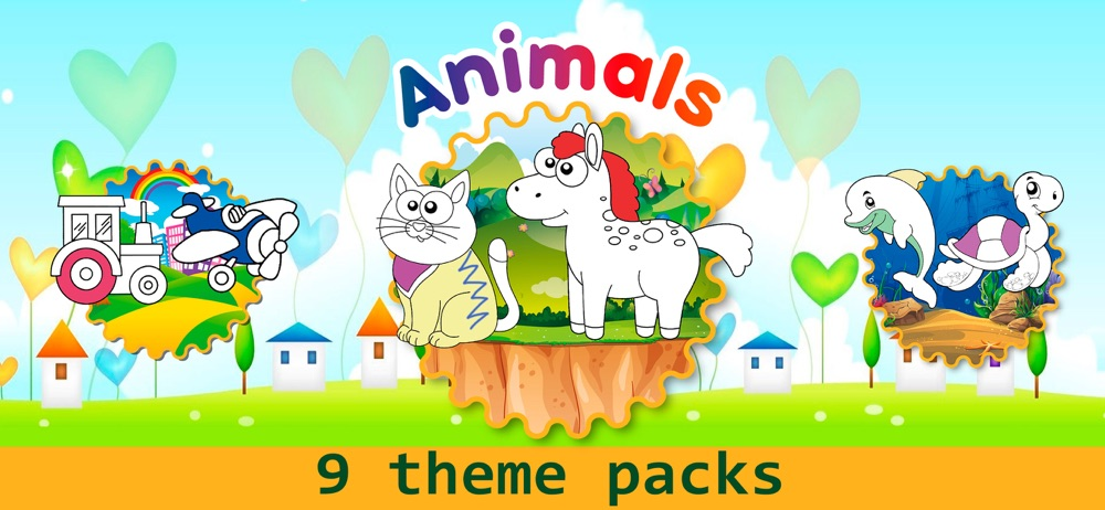 Hack tool for Coloring games for kids 3 year