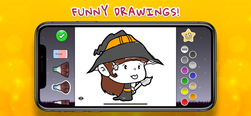 Coloring Your Halloween cheat codes