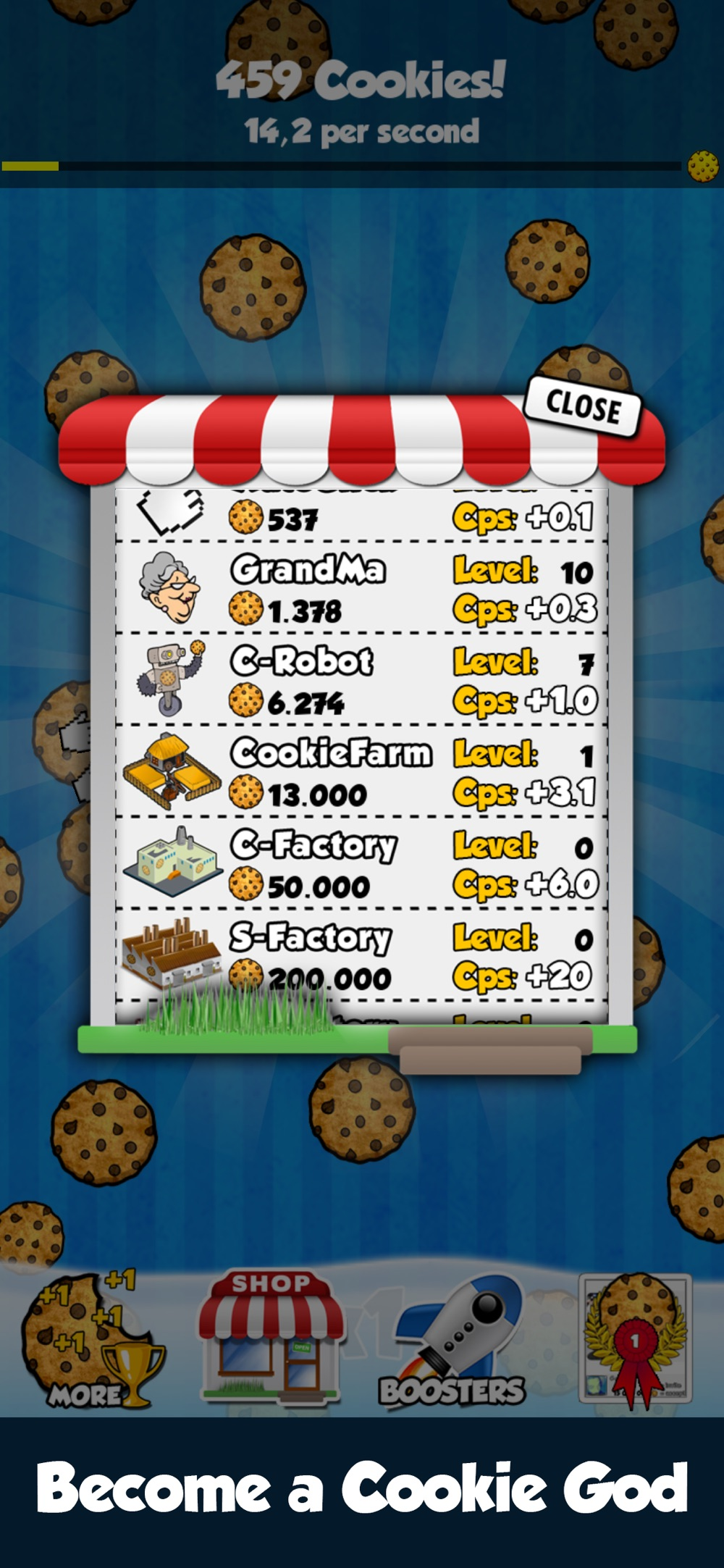 Hack tool for Cookie Clickers