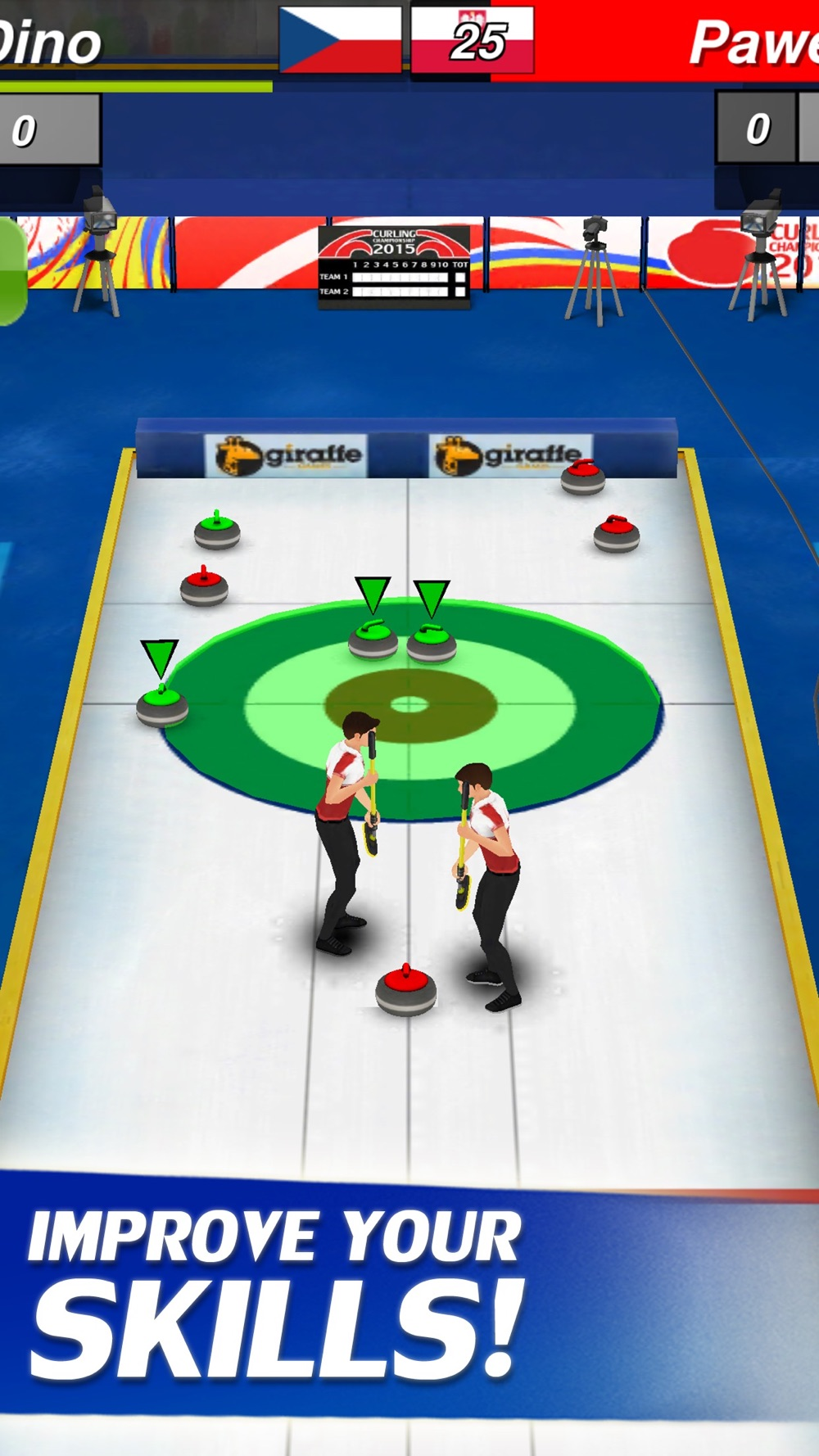 Hack tool for Curling 3D Champion
