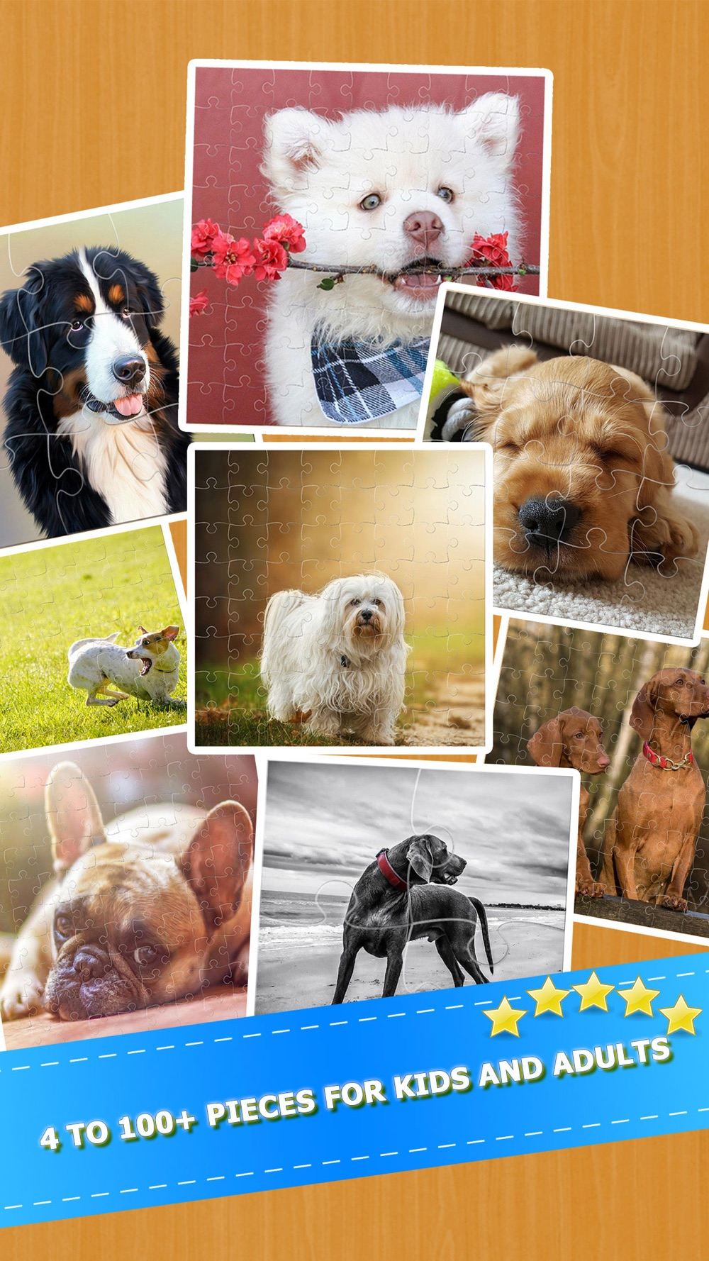 Hack tool for Cute Puppy Dogs Jigsaw Puzzles Games For Adults