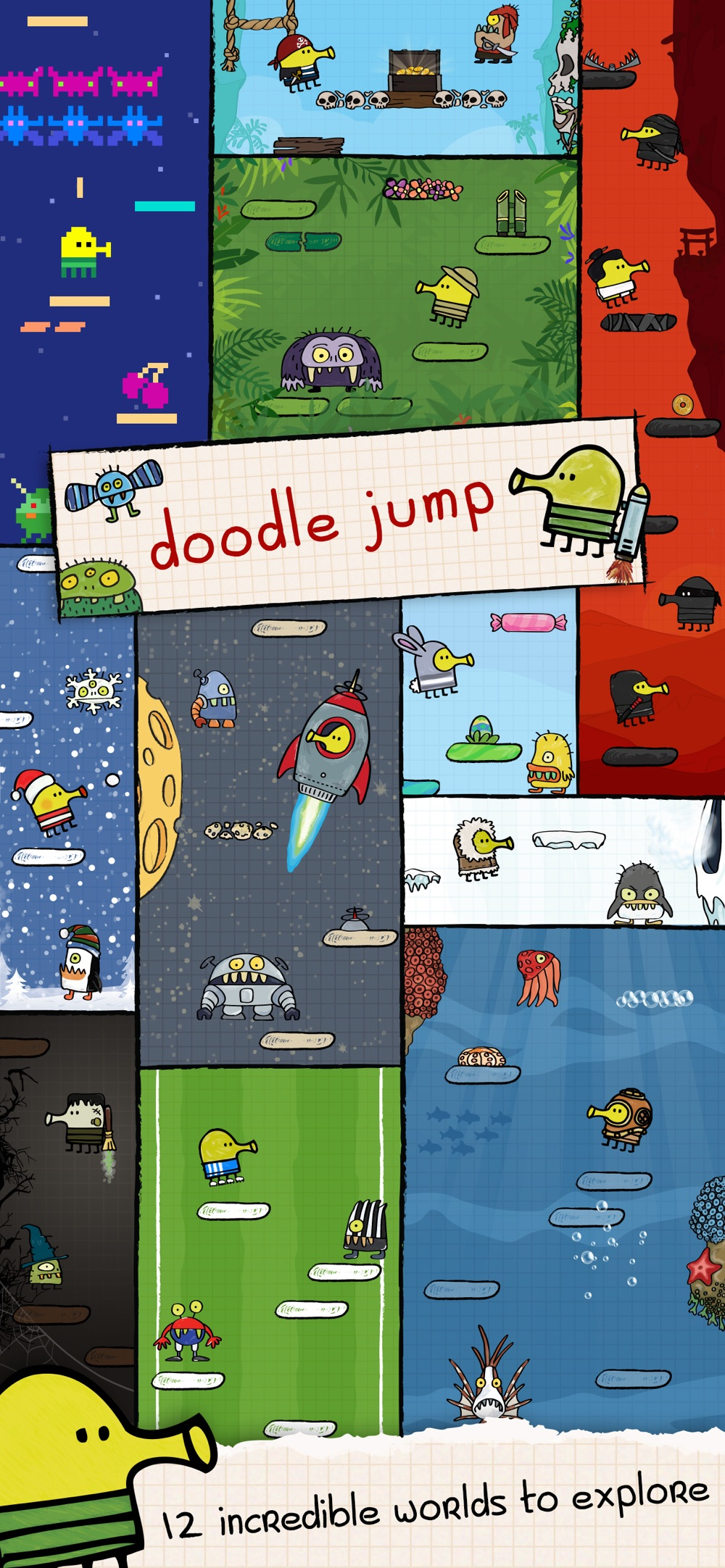 Hack tool for Doodle Jump
