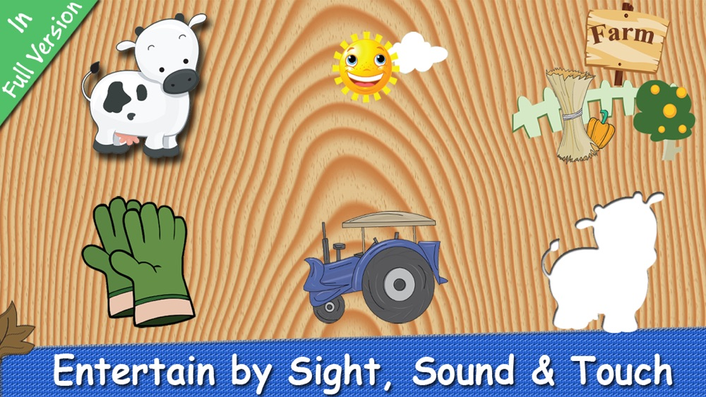Hack tool for Farm Puzzle for Babies Free: Move Cartoon Images and Listen Sounds of Animals or Vehicles with Best Jigsaw Game and Top Fun for Kids, Toddlers and Preschool
