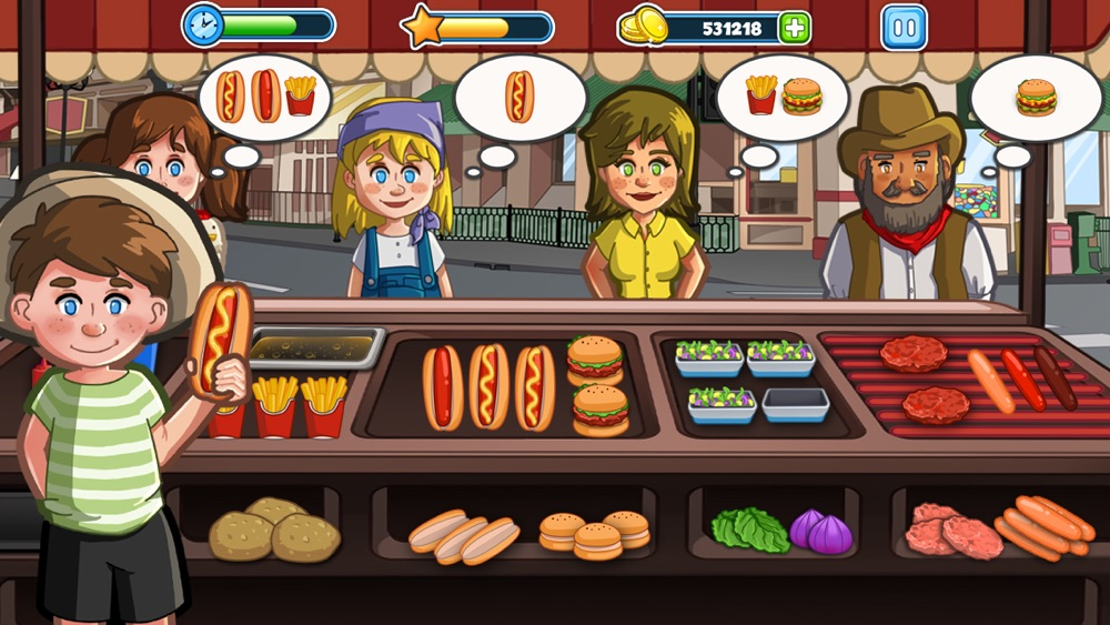Hack tool for Fast Food Shop!