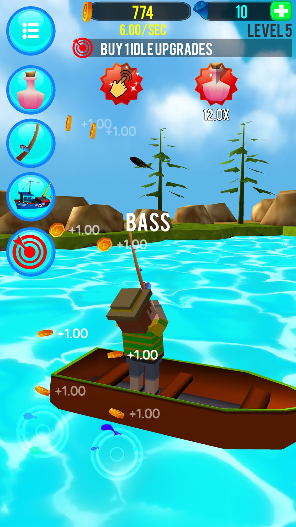 Hack tool for Fishing Clicker