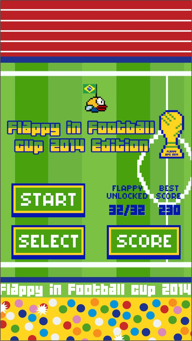 Flappy in Football cup 2014 Edition hack tool