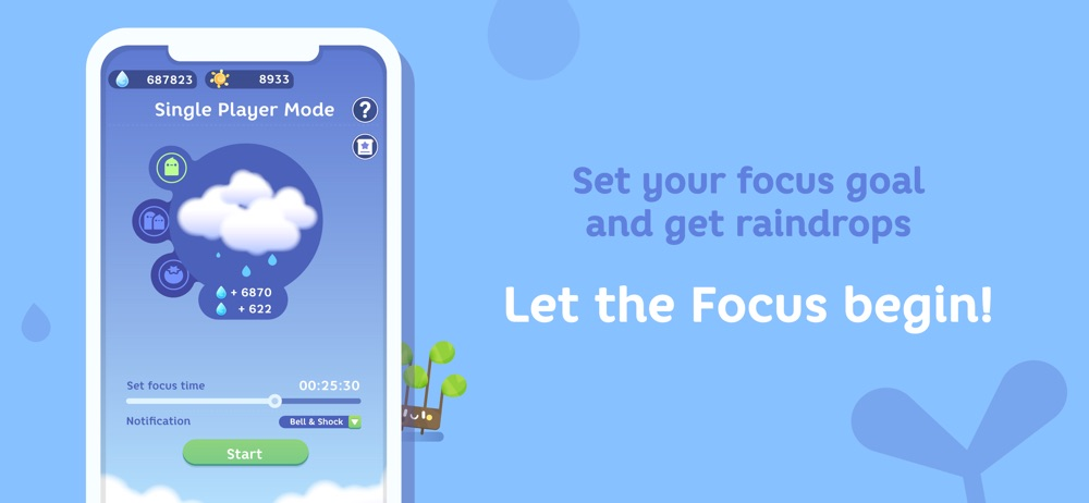 Hack tool for Focus Plant - Stay Focused
