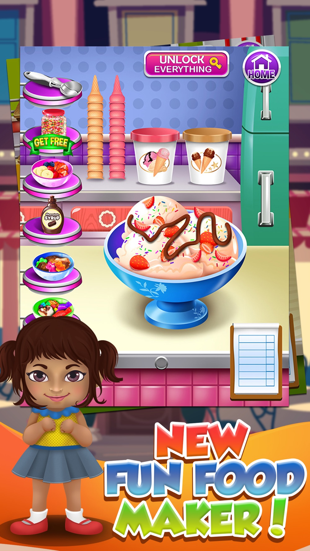 Food Maker Cooking Games for Kids Free hack tool