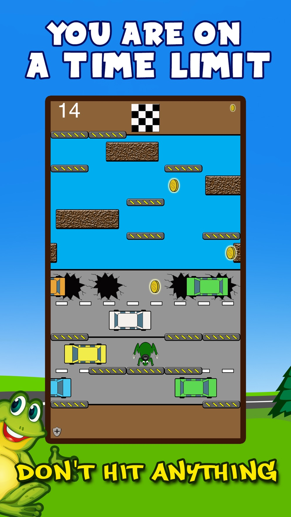 Hack tool for Froodie - Road Crossing Frog Frogger