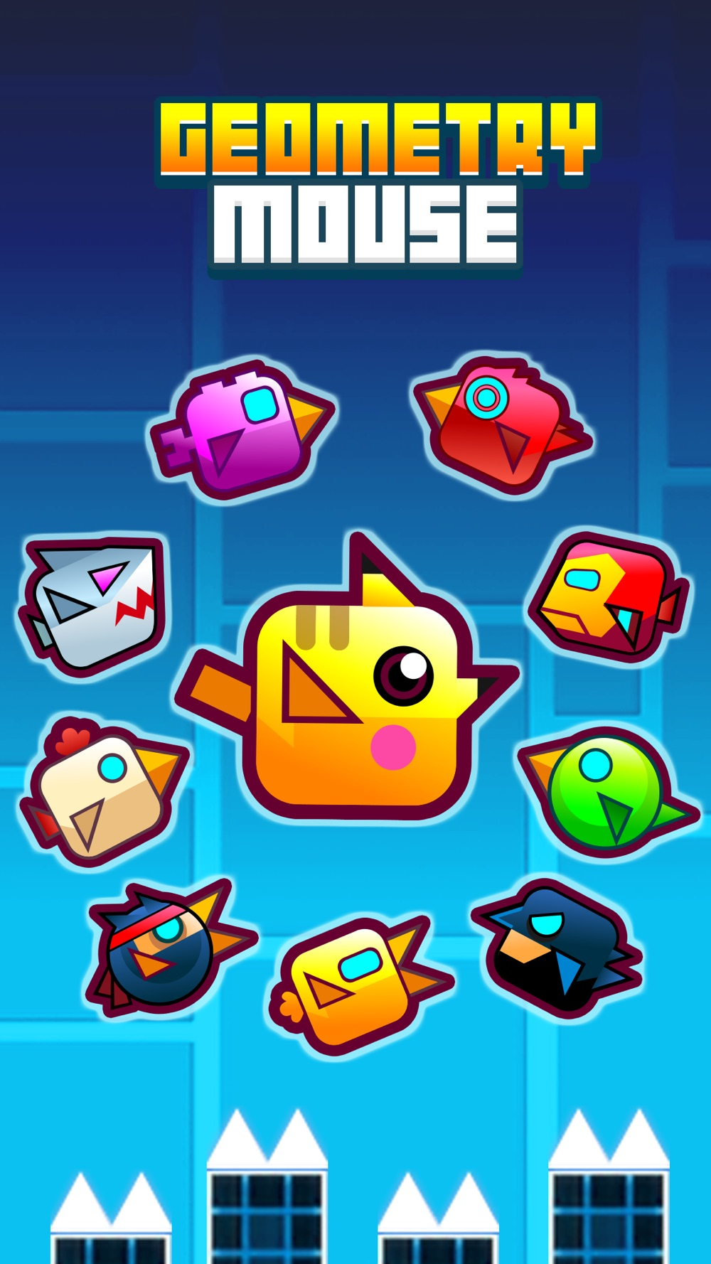 Geometry Pocket Mouse – Electric Pet Go Avoid Color Stack cheat codes