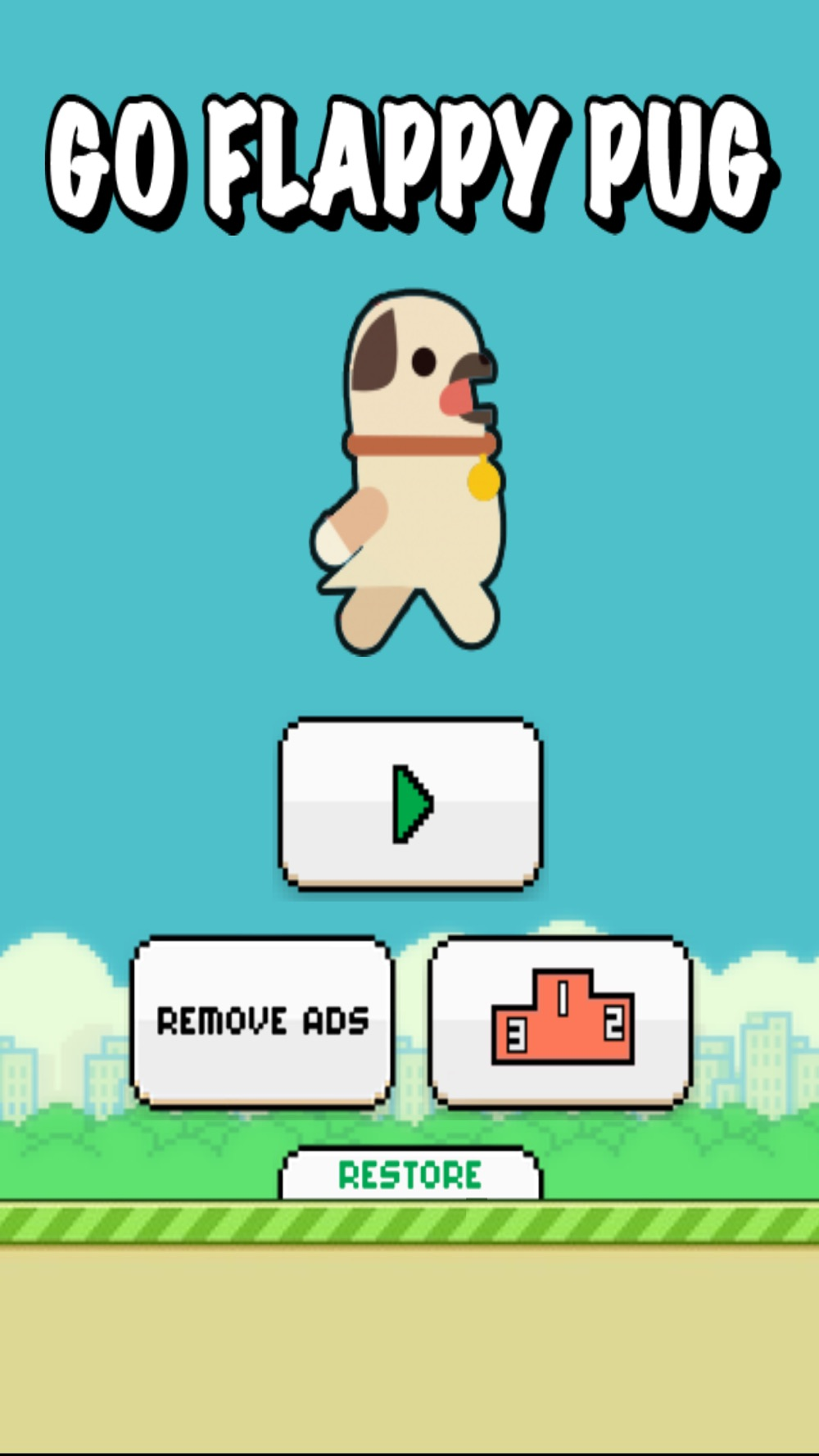 Hack tool for Go Flappy Pug