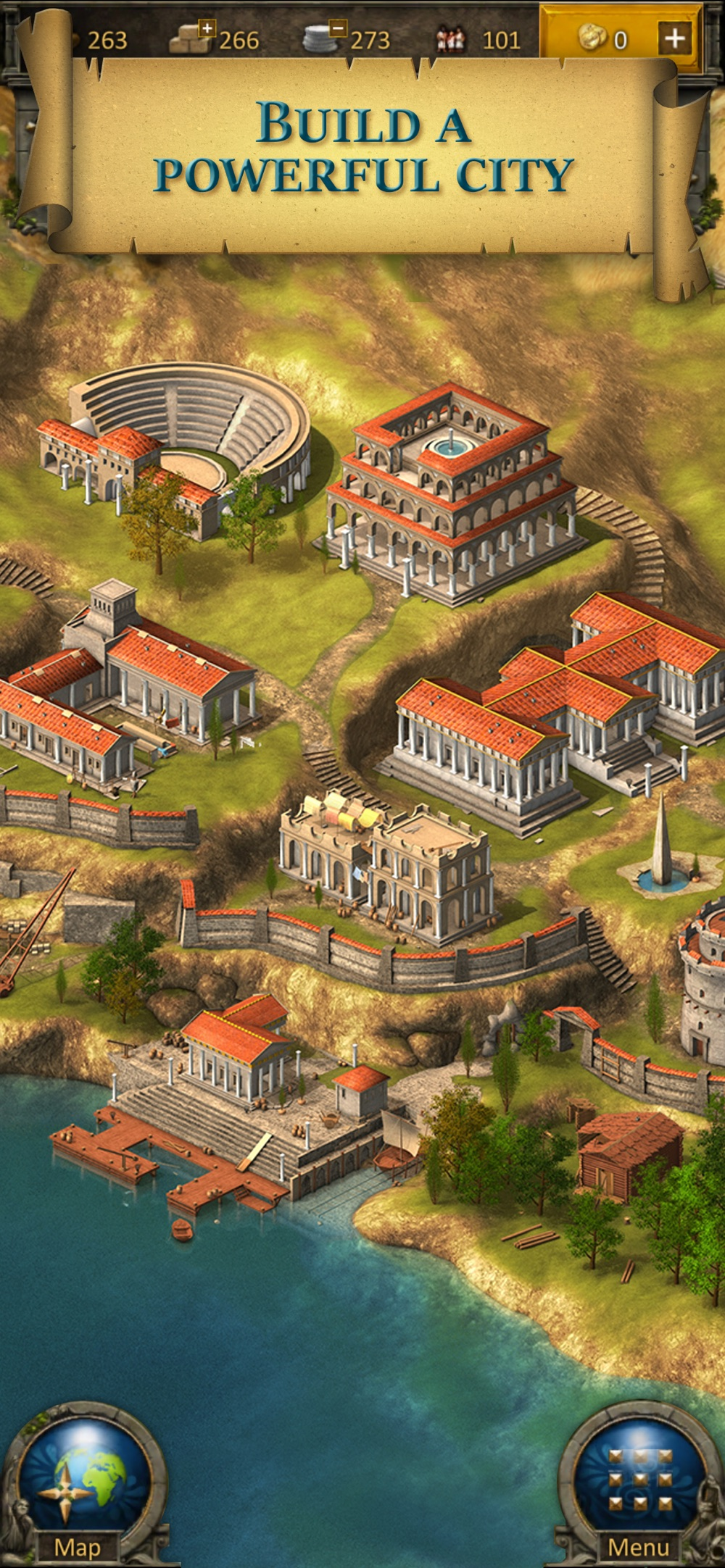 Grepolis – Divine Strategy MMO cheat codes