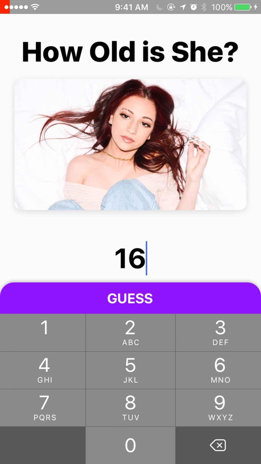 Hack tool for Guess Her Age Challenge