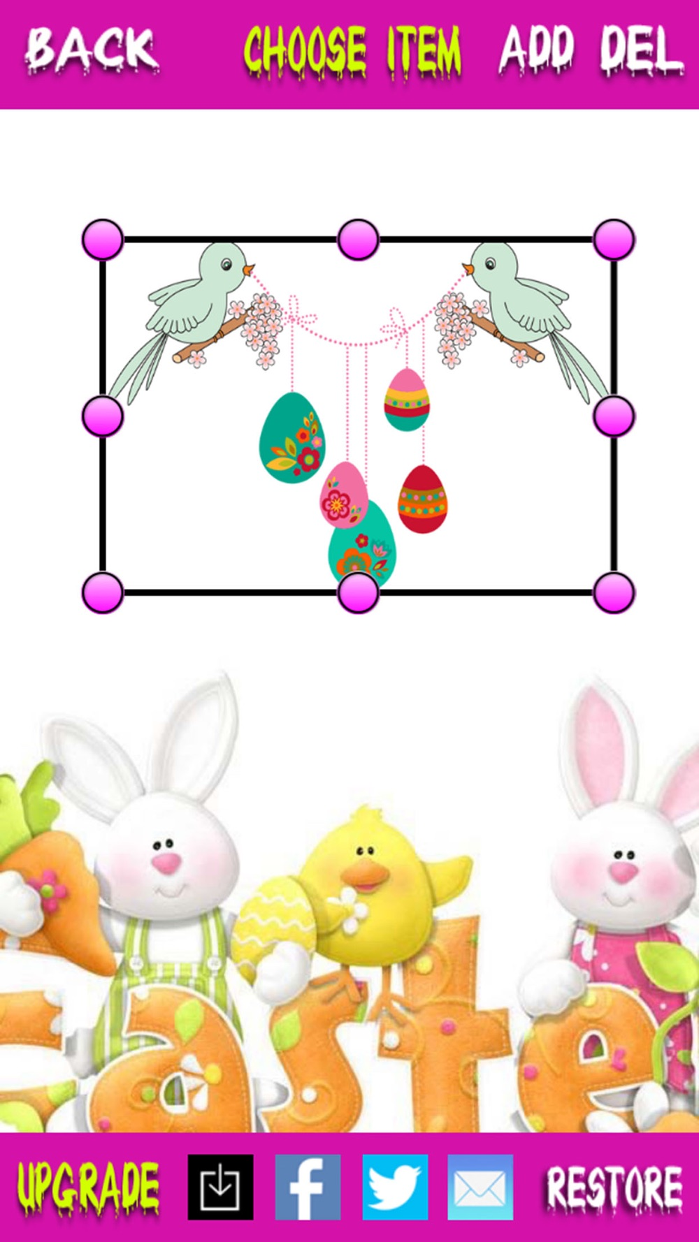 Hack tool for Happy Easter - Free Photo Editor and Greeting Card Maker