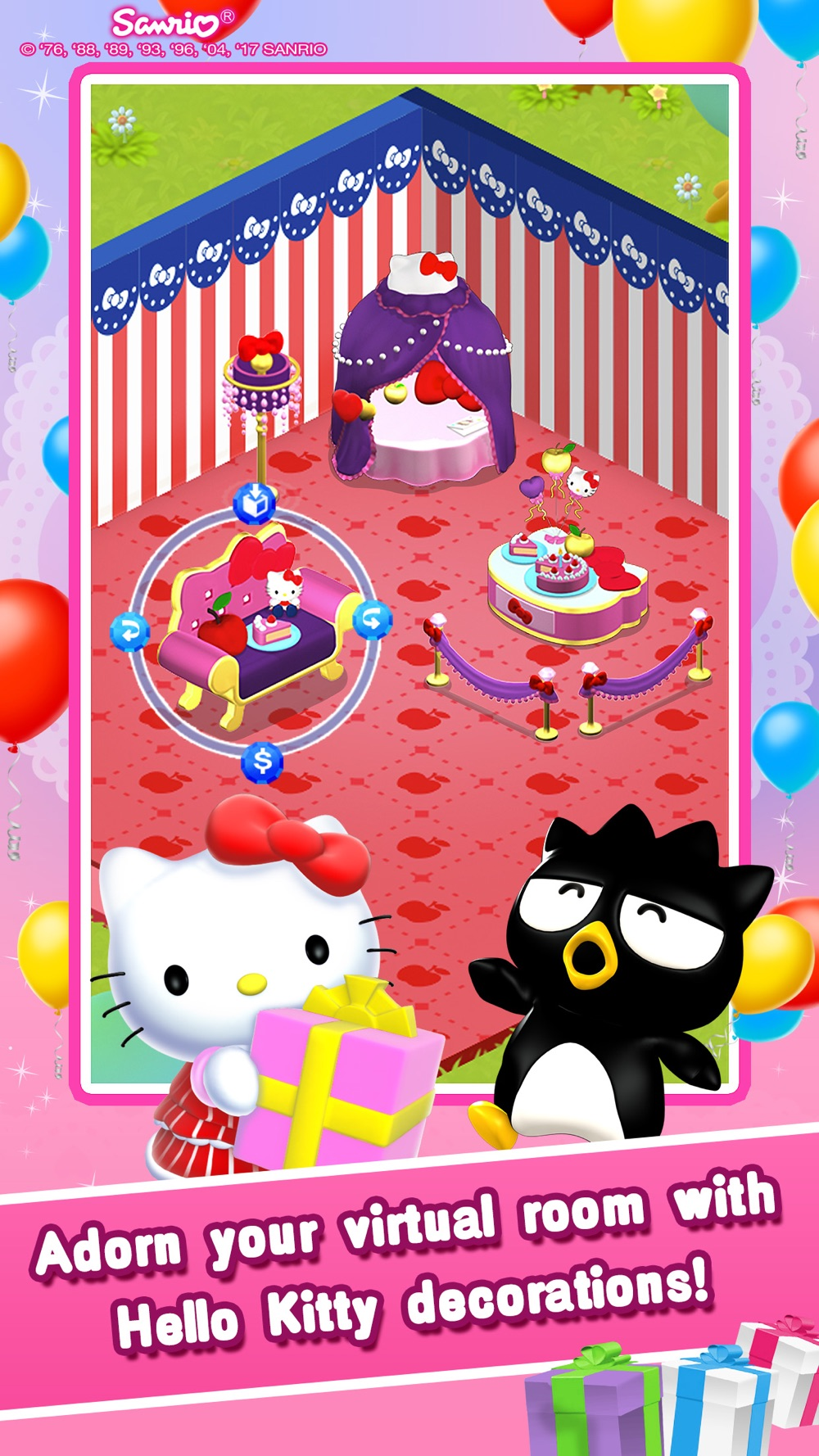 Hack tool for Hello Kitty Jewel Town!