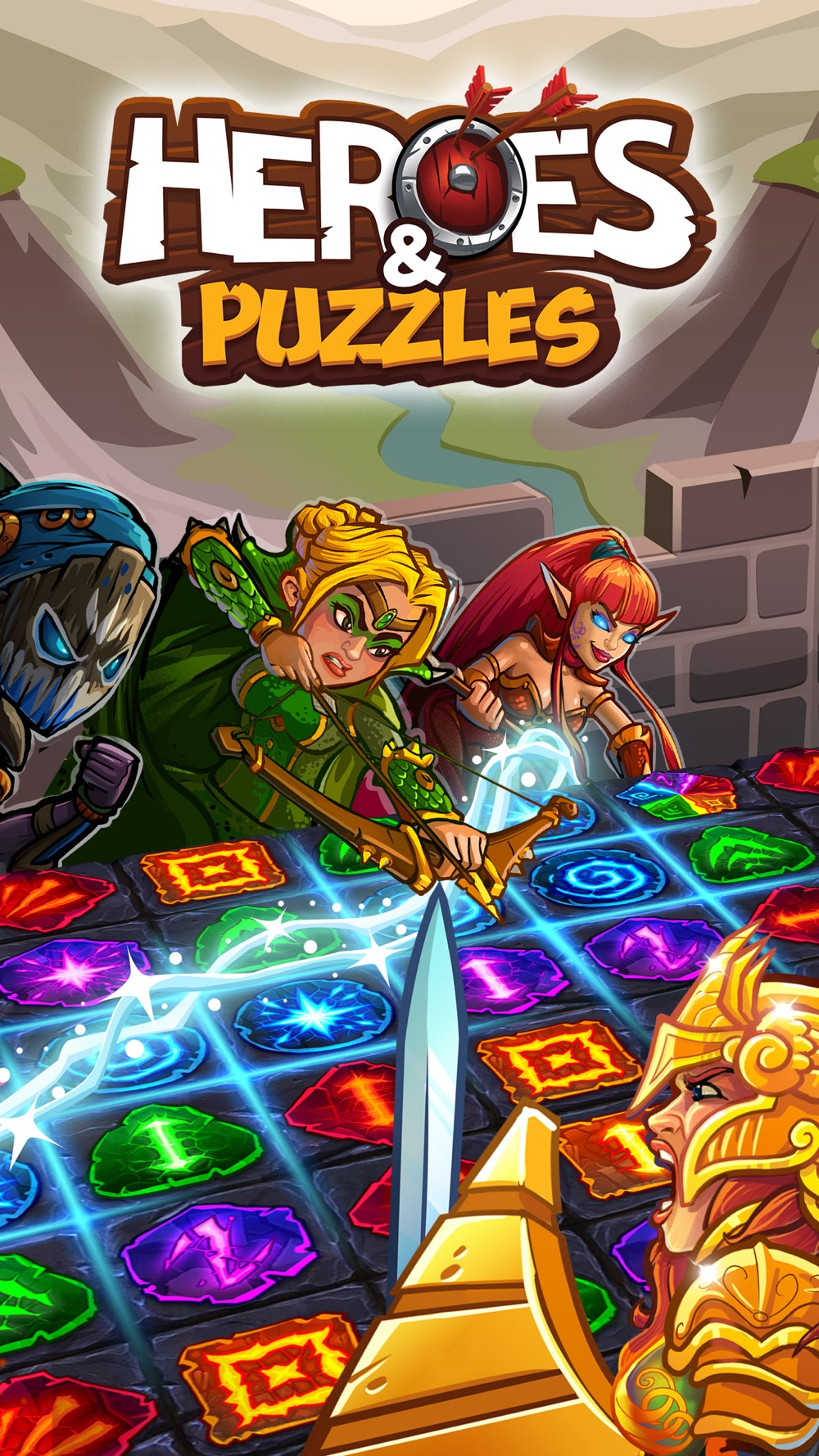 Heroes and Puzzles cheat codes