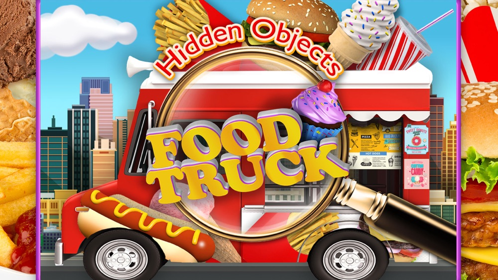 Hidden Objects Food Truck – Junk Candy Object Time hack tool