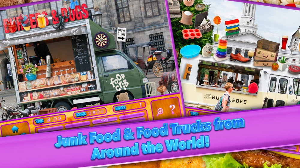 Hack tool for Hidden Objects Food Truck - Junk Candy Object Time