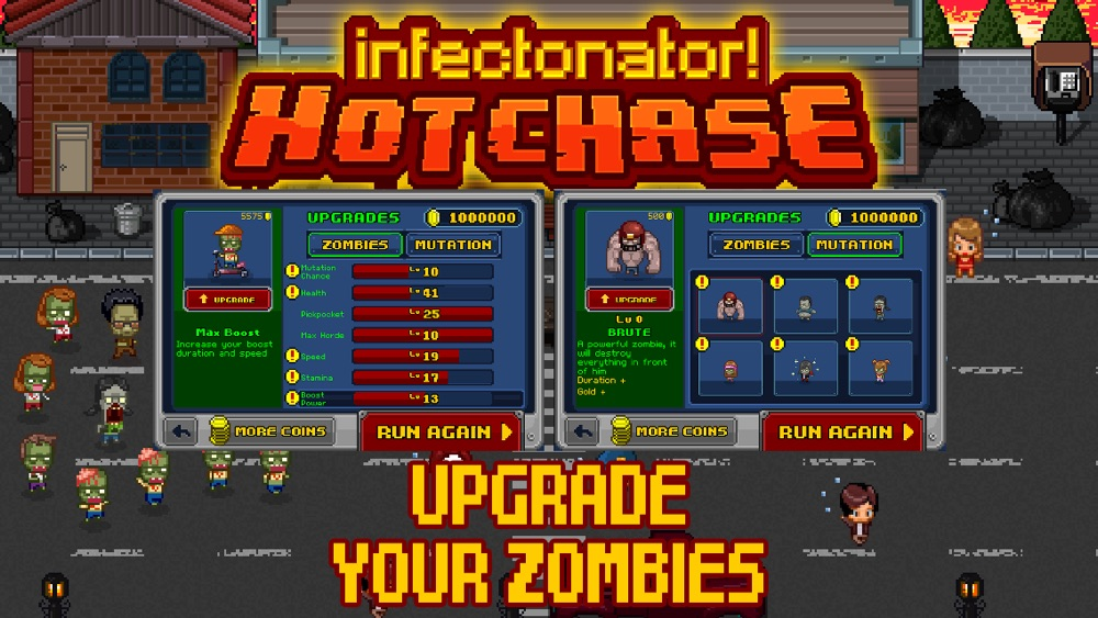 Hack tool for Infectonator : Hot Chase