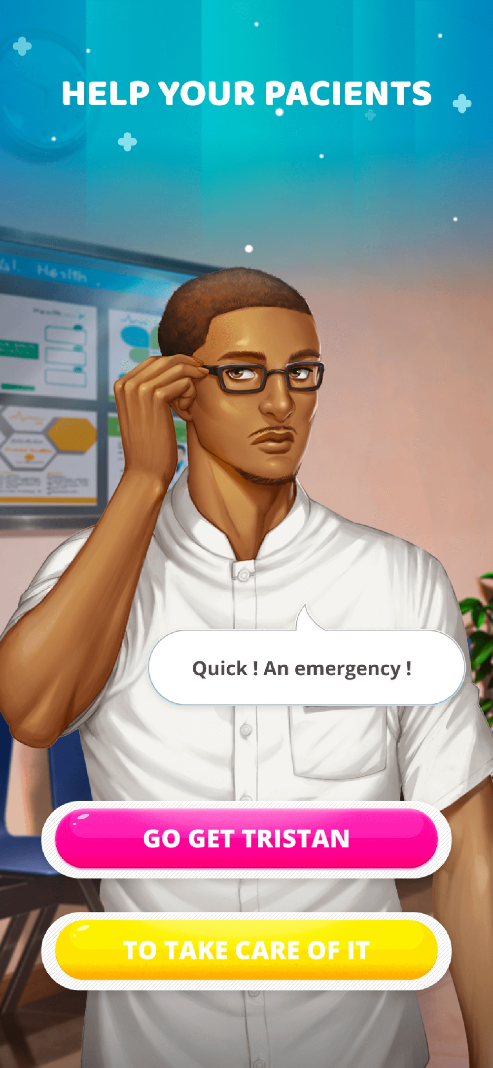 Hack tool for Intensive Care, Hospital Story
