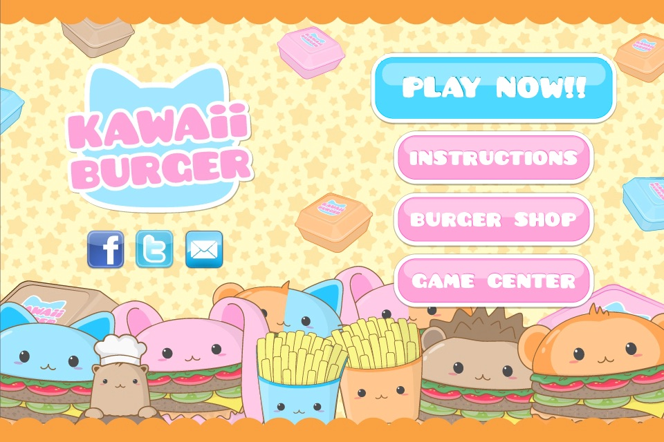 Kawaii Burger cheat codes