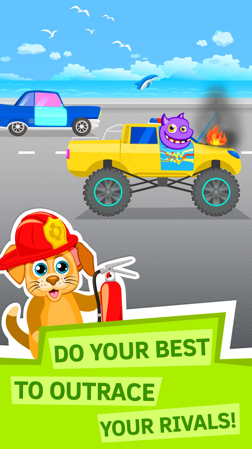 Kids Race Car Game for Toddlers cheat codes
