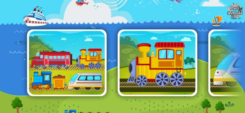 Hack tool for Kids Train Puzzle for Toddlers