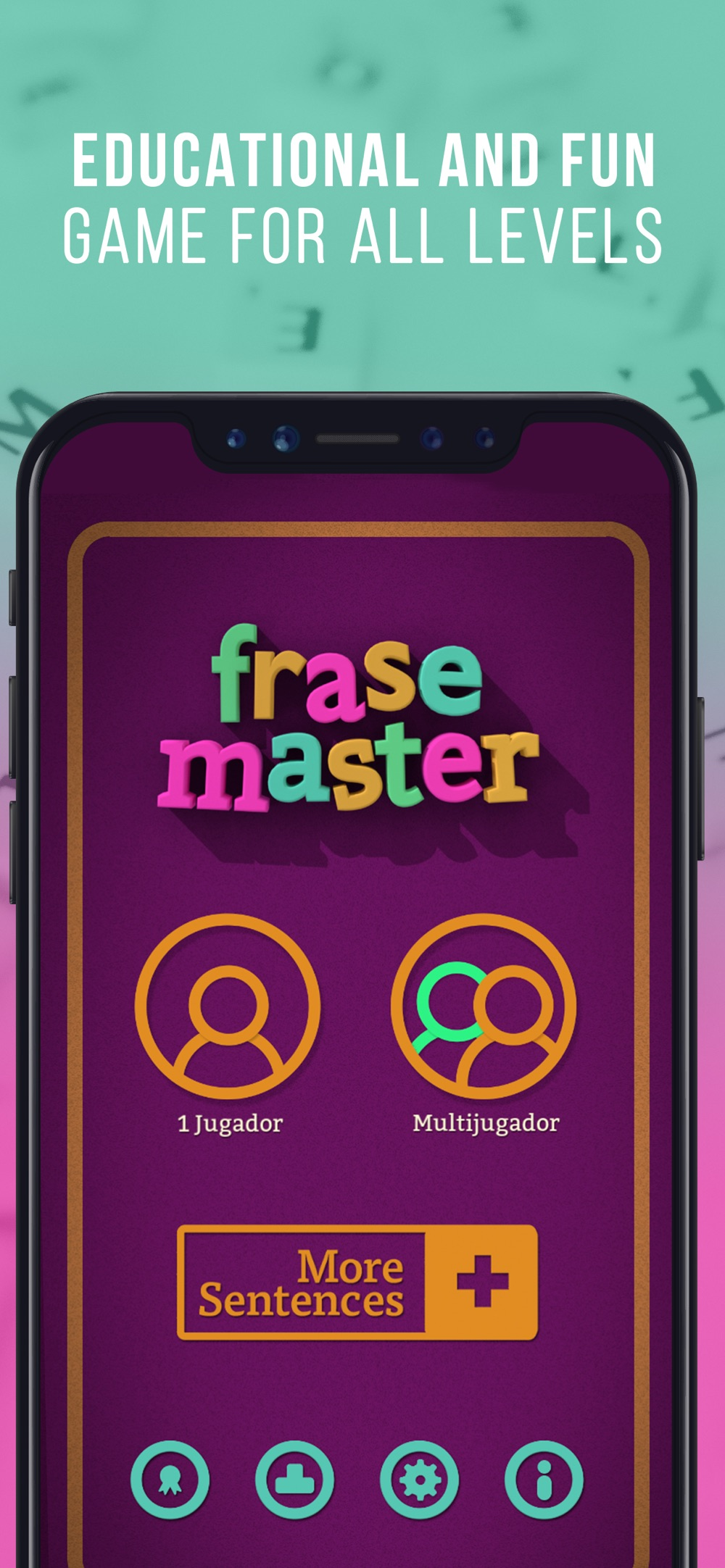 Hack tool for Learn Spanish Frase Master